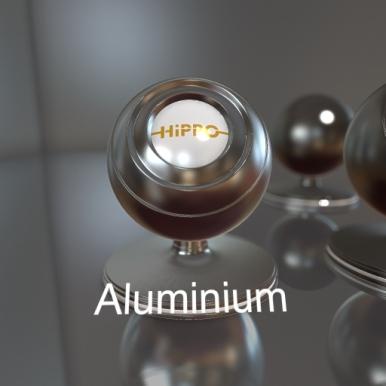 Brushed Aluminium